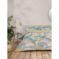 Product photograph showing Accessorize Brushstrokes Duvet Cover Set