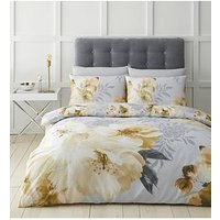 Product photograph showing Catherine Lansfield Dramatic Floral Duvet Cover Set