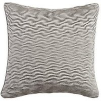 Product photograph showing Velvet Wave Cushion
