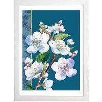 Product photograph showing East End Prints Blossoms By Rocket 68 A3 Framed Print