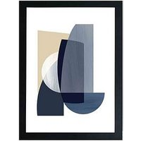Product photograph showing East End Prints Abstract Iv By Anna Mainz A3 Framed Print