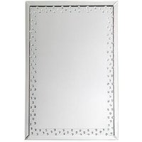 Product photograph showing Gallery Eastmoore Silver Wall Mirror