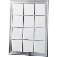 Product photograph showing Gallery Costner White Mirror