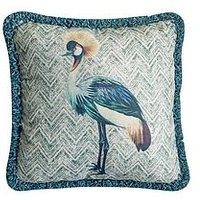 Product photograph showing Gallery Paradise Bird Cushion