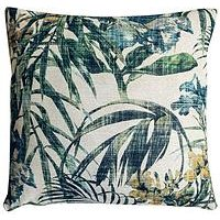 Product photograph showing Gallery Tropicana Leaf Cushion