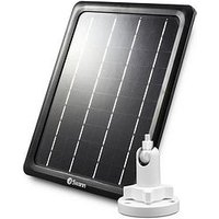 Product photograph showing Swann Outdoor Weatherproof Solar Charging Panel For Swann Smart Security Cameras - Swifi-solar-gl