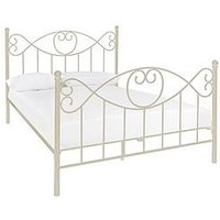 Product photograph showing Juliette Bed Frame With Mattress Options Buy And Save - Bed Frame Only