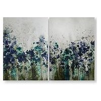 Product photograph showing Graham Brown Set Of 2 Peaceful Prairie Printed Canvas