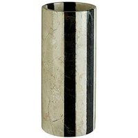 Product photograph showing Premier Housewares Sura Marble Stripe Vase