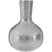 Product photograph showing Premier Housewares Safia Hammered Effet Bottle Vase