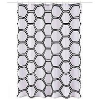 Product photograph showing Aqualona Honeycomb Shower Curtain