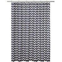 Product photograph showing Aqualona Chevron Shower Curtain