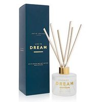 Product photograph showing Katie Loxton Sentiment Reed Diffuser Live To Dream White Orchid And Soft Cotton 100ml