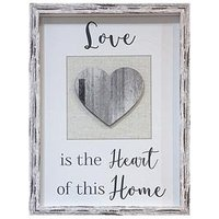 Product photograph showing Arthouse Love Heart 3d Framed Print