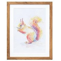 Product photograph showing Arthouse Squirrel Framed Print