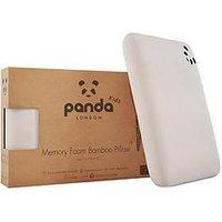Product photograph showing Panda London Kids Luxury Memory Foam Bamboo Pillow