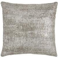 Product photograph showing Luxe Collection All That Glitters Cushion - Silver