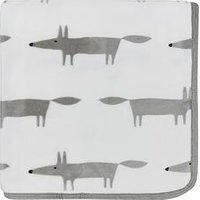 Product photograph showing Scion Mr Fox Fleece Throw