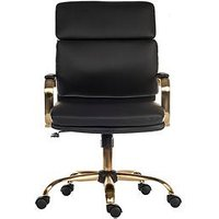Product photograph showing Teknik Office Hepburn Vintage Style Office Chair