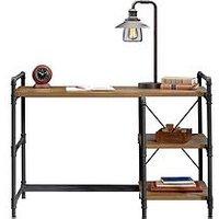 Product photograph showing Teknik Office Dexter Industrial Style Desk
