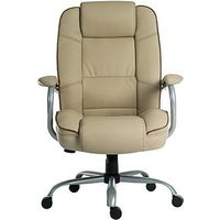 Product photograph showing Teknik Office Rhea Duo Office Chair - Cream