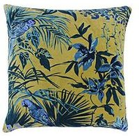 Product photograph showing Riva Home Amazon Jungle Cushion