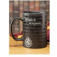 Product photograph showing Harry Potter I Would Rather Be At Hogwarts Mug
