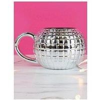 Product photograph showing Gift Republic Disco Ball Mug
