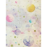 Product photograph showing Arthouse Kids Stargazer Pink Wallpaper