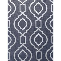 Product photograph showing Arthouse Calico Trellis Navy Wallpaper