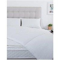Product photograph showing Silentnight Superwash 2pk Pillow Duvet 10 5 Topper Bundle