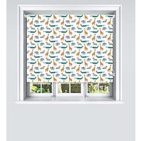 Product photograph showing Jungle Blackout Printed Roller Blind 180x140