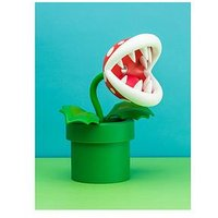 Product photograph showing Super Mario Piranha Plant Posable Lamp Bdp