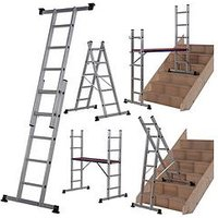 Product photograph showing Werner 5 In 1 Combination Ladder