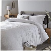 Product photograph showing Everyday Collection Crinkle Duvet Cover Set
