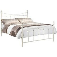 Product photograph showing Julian Bowen Rebecca Metal Bed - Bed Frame Only