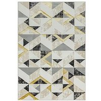 Product photograph showing Asiatic Orion Flag Grey Rug
