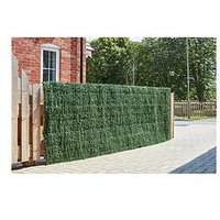 Product photograph showing Smart Solar Faux Grass Screening Roll 100 X 300cm