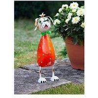 Product photograph showing Smart Solar Floppy Dog Garden Ornament