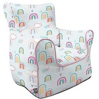 Product photograph showing Rucomfy Rainbow Sky Children S Armchair