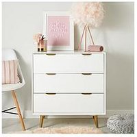 Product photograph showing Mini Luxe Chest Drawers