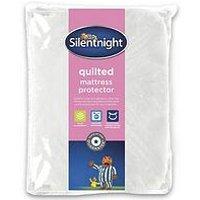 image-Silentnight Quilted Deep Mattress Protector
