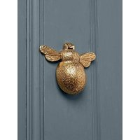 Product photograph showing Cox Cox Bumble Bee Door Knocker - Solid Brass