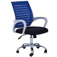 Product photograph showing Premier Housewares Jameson Office Chair- Blue