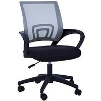 Product photograph showing Premier Housewares Maurice Office Chair- Dark Grey