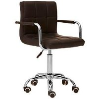 Product photograph showing Premier Housewares Helena Office Chair- Black