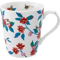 Product photograph showing Cath Kidston Grenwich Flowers Stanley Mug