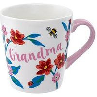 Product photograph showing Cath Kidston Grenwich Flowers Mini Stanley Grandma Mug
