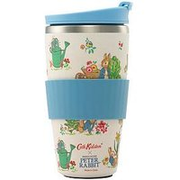 Product photograph showing Cath Kidston Beatrix Potter Allotment Travel Mug