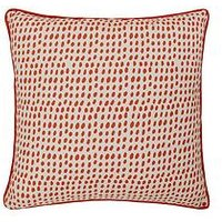 Product photograph showing Earth Tones Dots Cushion